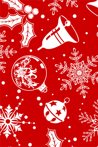 iPhone-Christmas-Ornaments-background-iPhone-wallpaper