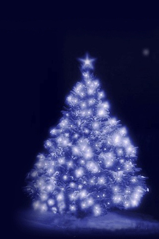 iPhone-Christmas-Tree-background-iPhone-wallpaper