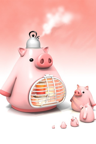 iPhone-Culinary-Pigs-background-iPhone-wallpaper