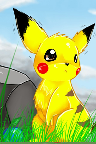 iPhone-Pikachu-background-iPhone-wallpaper