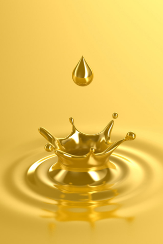 Liquid-Gold-3D-iPhone-Wallpaper