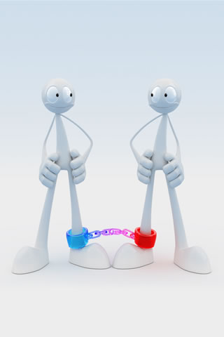 Love-Bound-3D-iPhone-Wallpaper
