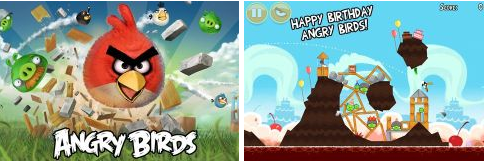 Angry birds est mis jour pour l ajout d un nouveau th me - Jeu info angry birds ...