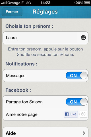 Saloon - iPhone App 2