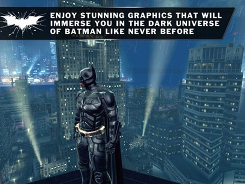 The Dark Knight Rises pour iPhone