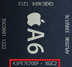 processeur A6 iphone5