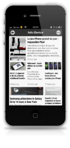 Newsify RSS Reader - Info iDevice 2