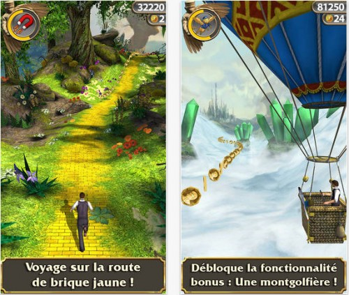 temple run Oz iOS