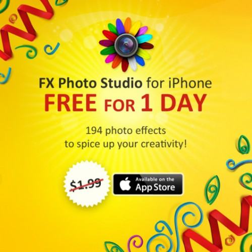 FX Photo Studio retouche photo iphone ipad
