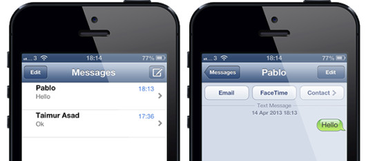 MessageSwiper Cydia iphone