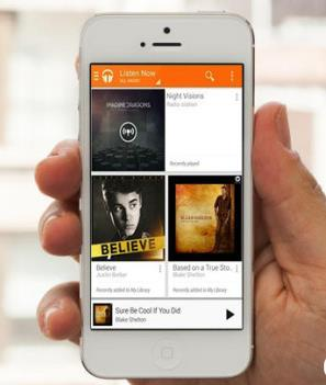 Google Play Music All Access iphone