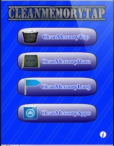 CleanMemoryTap Cydia