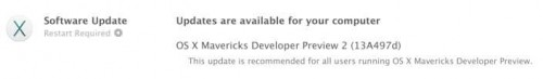 OS X Mavericks preview 2
