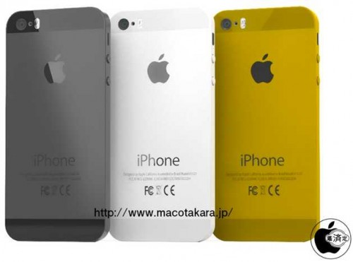 iPhone 5s couleur or