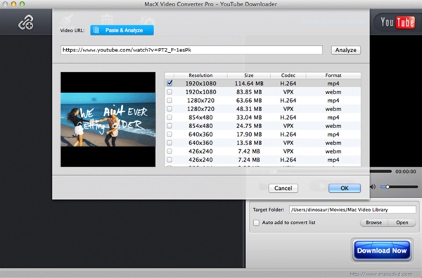 macx video converter gratuit-infoidevice