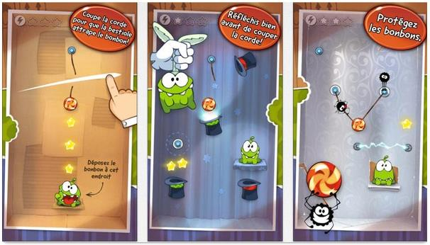 Cut the Rope gratuit - Info iDevice