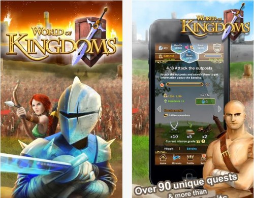 World of Kingtoms pour iOS et Android - Info iDevice