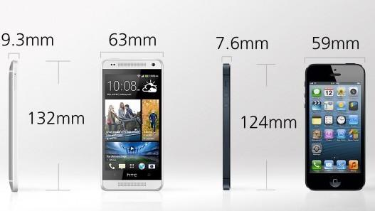 comparaison entre l 39 iphone 5 et le htc one mini. Black Bedroom Furniture Sets. Home Design Ideas