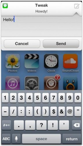 Anemo tweak Cydia - Info iDevice