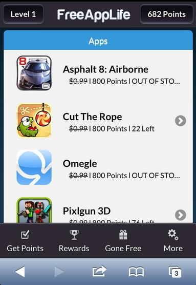 FreeAppLife 2 - Info iDevice