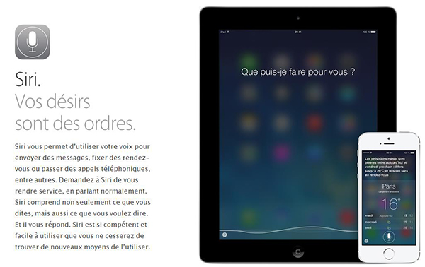 Siri iOS 7 n'est plus en beta - Info iDevice