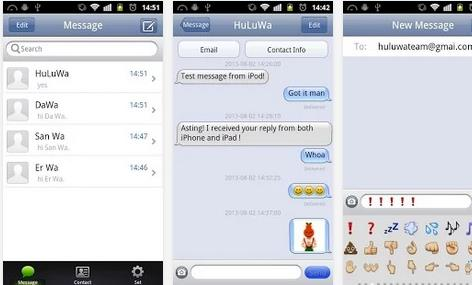 iMessage chat Android - Info iDevice