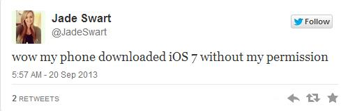 iPhone download iOS 7 without permission- Info iDevice