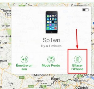 Erreur d'activation localiser mon iPhone-InfoiDevice
