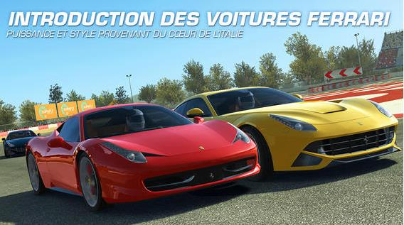 Ferrari Real Racing 3-Info iDevice