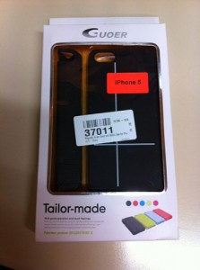 Test coque iPhone 5S - 5 avec smart cover - Info iDevice