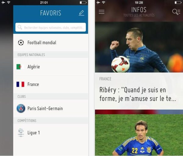 FIFA officiel Bresil 2014-Info iDevice