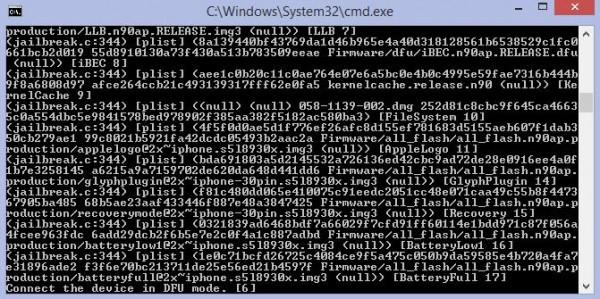 Reboot iPhone après jailbreak iOS 7.0.4 opensn0w-Info iDevice