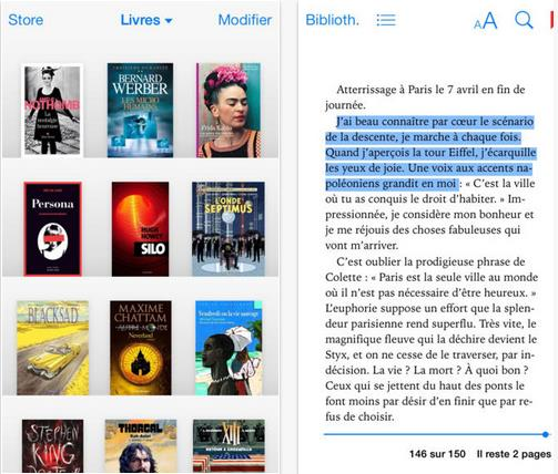 iBooks iOS 7-Info iDevice