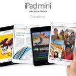 bons plans iPad mini avec écran Retina-Info iDevice