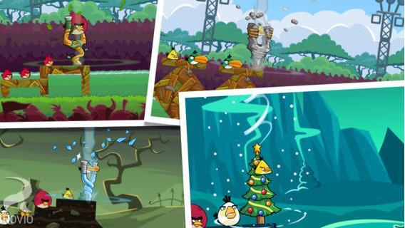 Angry birds friends d fiez vos amis avec le tournoi de - Angry birds noel ...