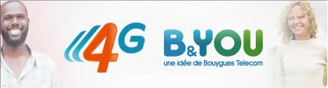 Forfait 4G B&You-Info iDevice