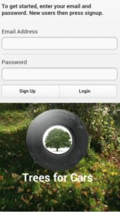 Trees for Cars-Info iDevice