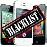 blacklist-Info iDevice