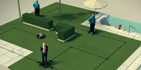 preview de Hitman Go sur iOS