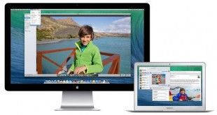 image de OS X Mavericks fonctionnant sur MacBook et iMac