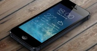 illustration du tweak cydia iOS 7 lockscreen weather