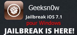 Geeksn0w : jailbreak iOS 7.1 pour iPhone sur Windows en 1 clic
