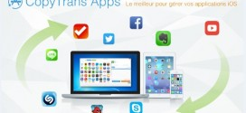 CopyTrans Apps : gérez vos applications sans iTunes