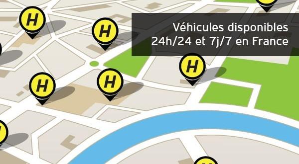 hertz 24 7 l application de location de v hicule la demande. Black Bedroom Furniture Sets. Home Design Ideas