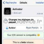 tweak activator compatible iOS 7.1.x