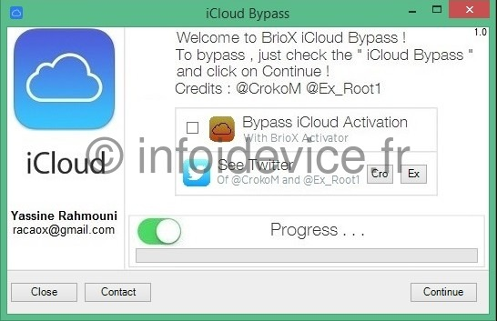 Briox bypass icloud activation ios 7