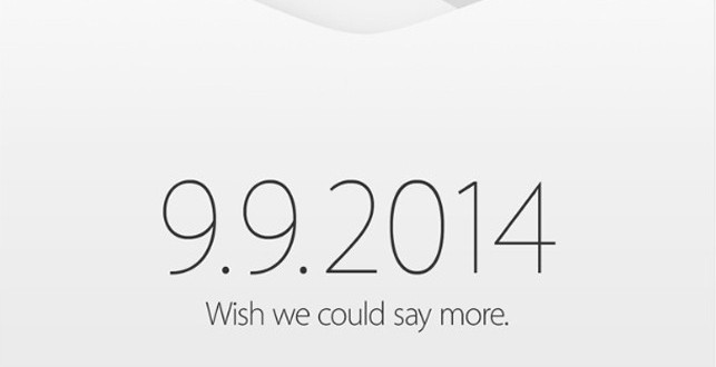 iPhone 6 : suivez la keynote Apple 2014