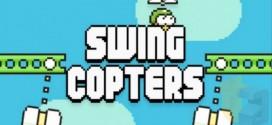 Swing Copters : le développeur de Flappy Bird nous dévoile son nouveau jeu