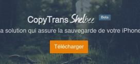CopyTrans Shelbee : sauvegarder et restaurer votre iPhone / iPad sans iTunes