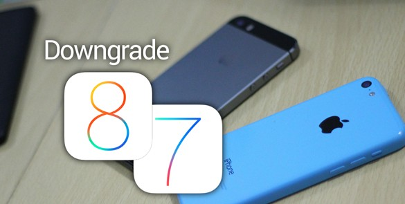 donwgrade ios 8